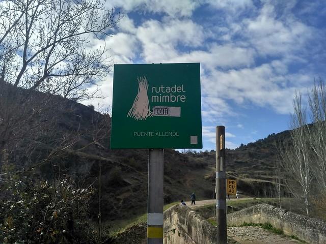 Sendero Ribera de las Escabas - Priego