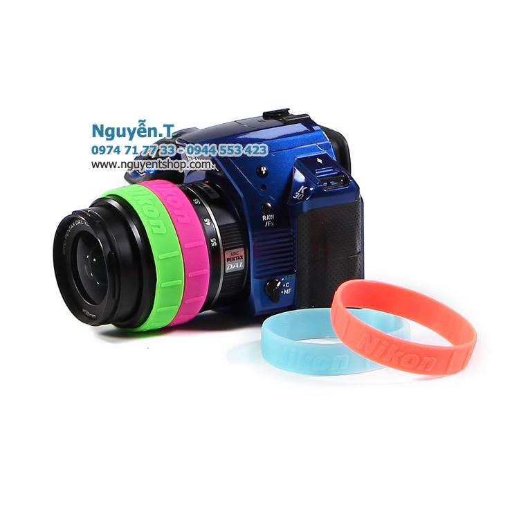 Vòng cao su Lens ống kính Nikon chữ nổi