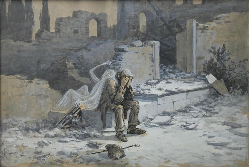 Jaroslave Panuska - Meeting With Spirit, 1899