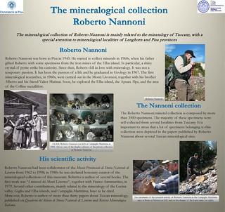 La collezione mineralogica Roberto Nannoni