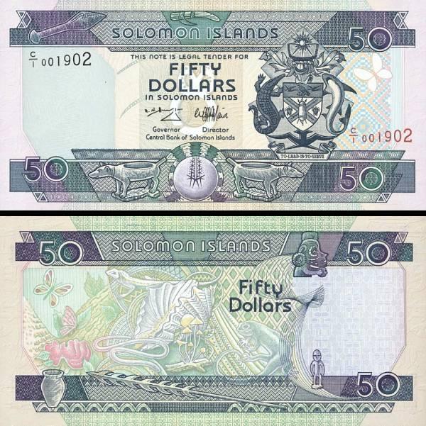50 Dolárov Šalamúnove ostrovy 1996, P22