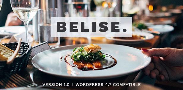Фото Wordpress премиум тема  Belise - Exquisite Minimalist  Restaurant Theme — 33335114052 5f5dbde525 o
