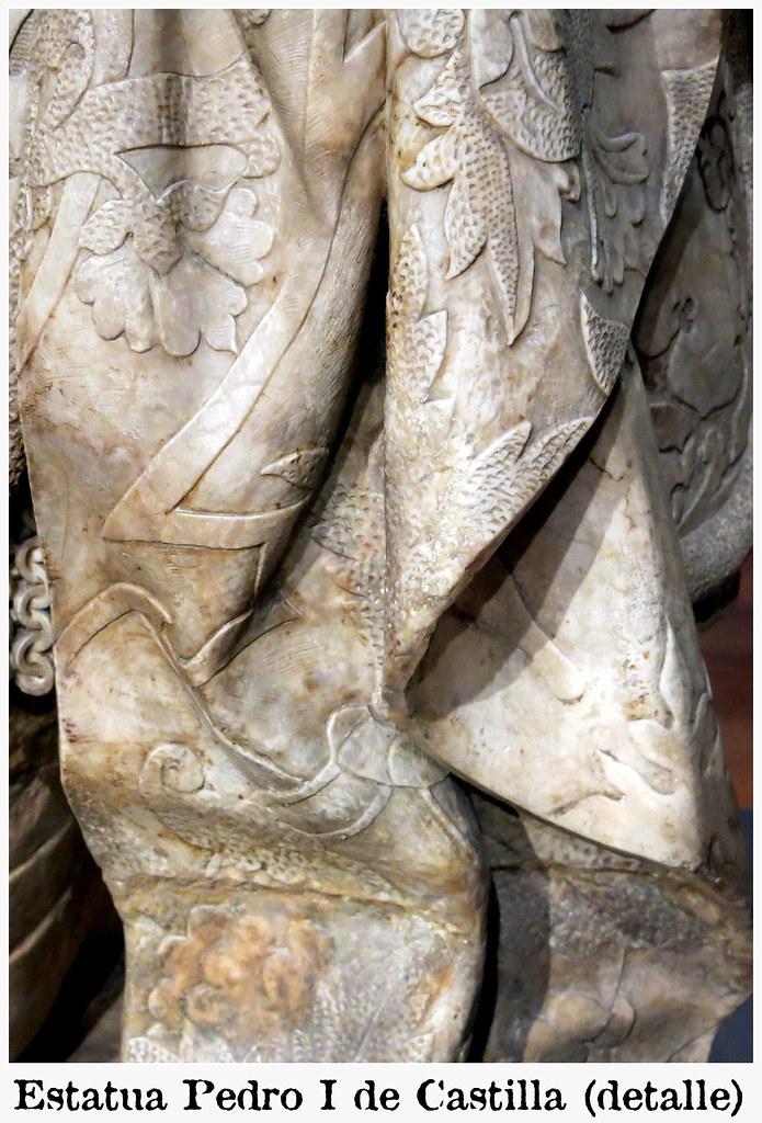 Estatua orante de Pedro I de Castilla