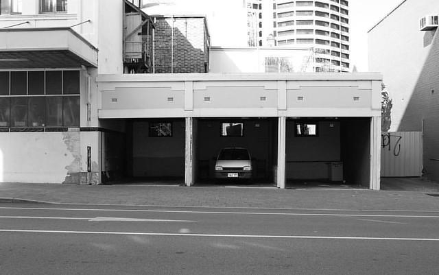 Premium city parking
