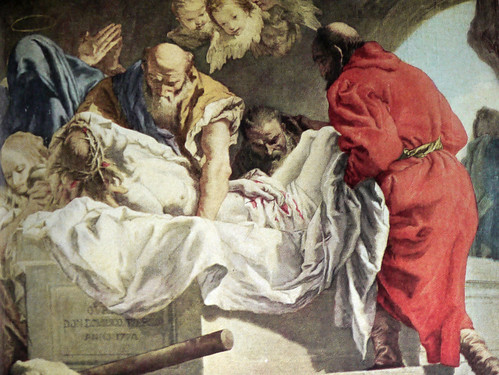 Entombment of Christ by Giovanni Battista Tiepolo