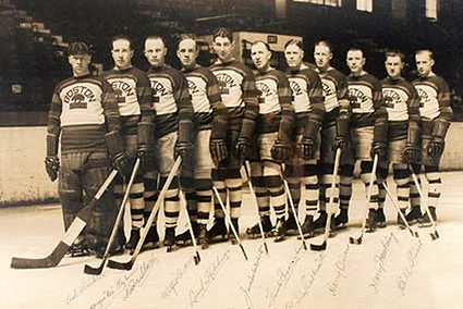 1926-27 Boston Bruins team