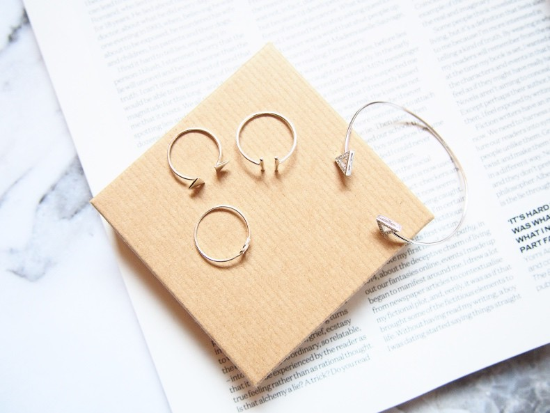 rings and bracelet from jewellerybox