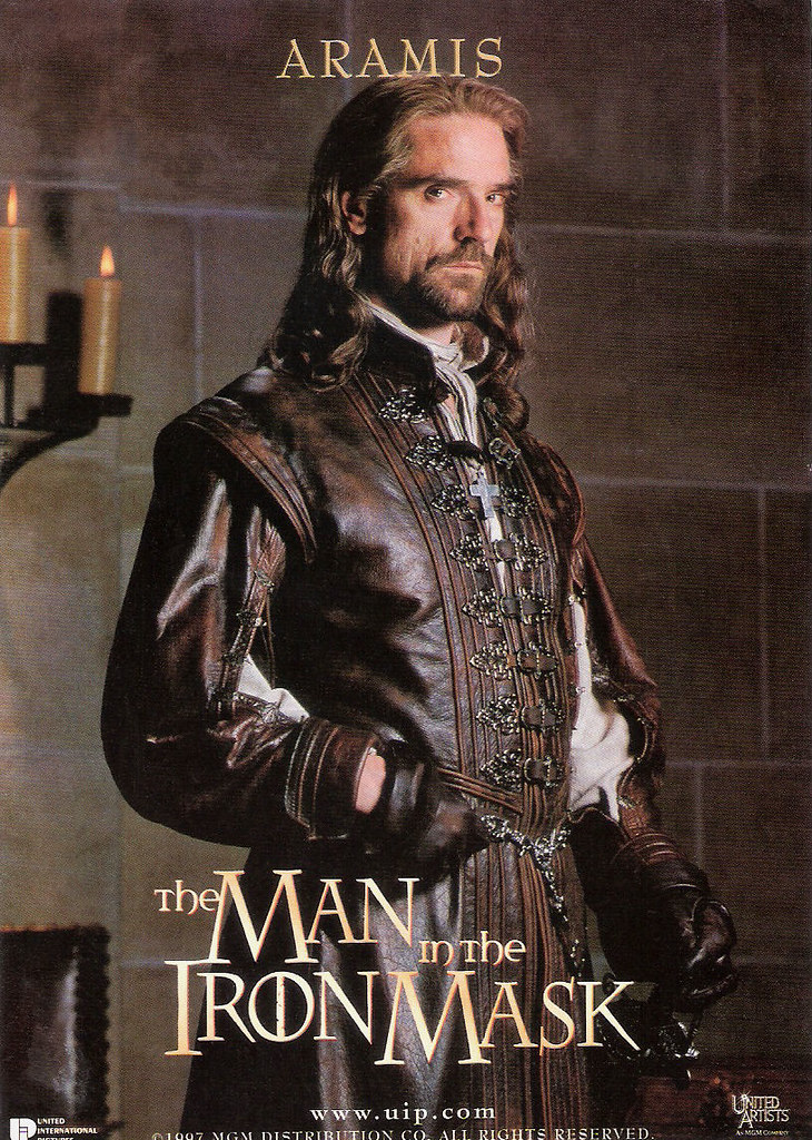 jeremy irons in the man in the iron mask 1998 british