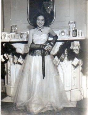 Joan Macaluso Cuttitta Prom 1940