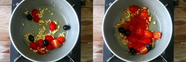 spinach tomato pasta 2