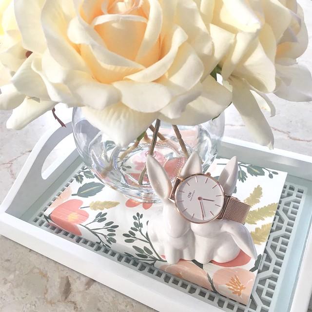 Daniel Wellington Classic Petite Melrose in rose gold 32mm (c/o)