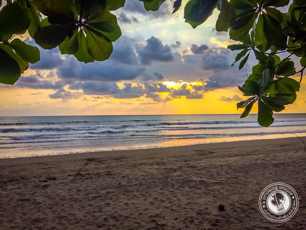 Sunset at Playa Hermosa Costa Rica