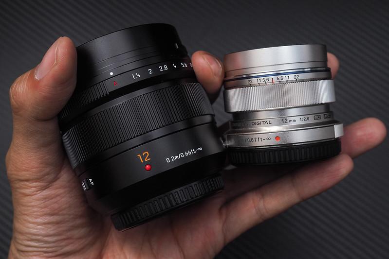 Panasonic Leica 12mm f/1.4|Olympus 12mm f/2.0