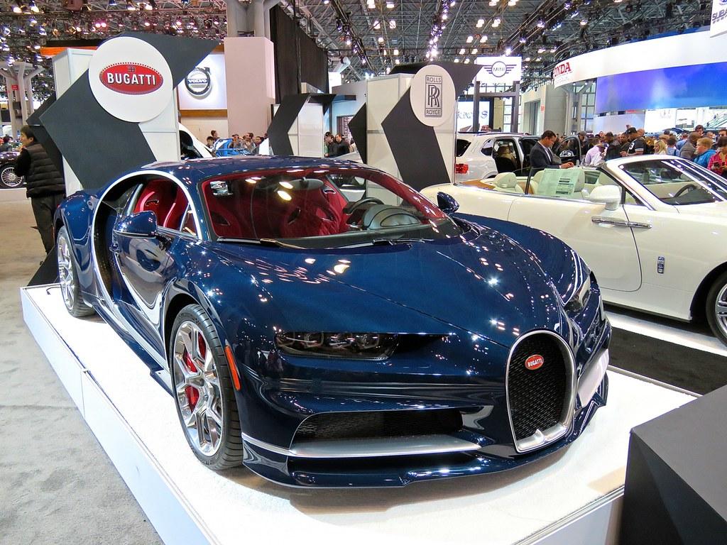 Bugatti Chiron NYIAS 7