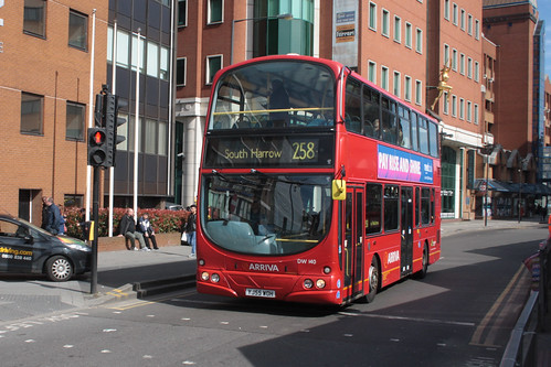 Arriva London DW140 YJ55WOH