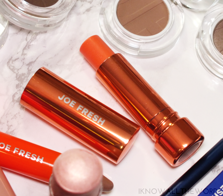 joe fresh tinted lip balm mango