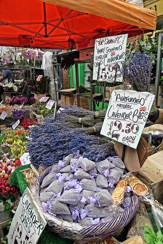 Wanderlust Us Travel Blog - Columbia Road Flower Market