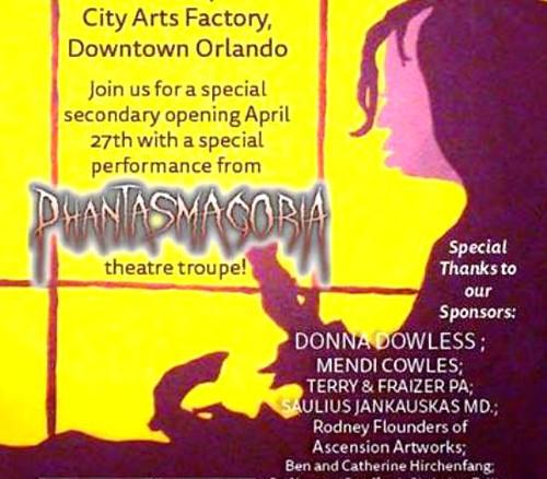 'Theatrix! & Phantasmagoria' is Art & Theatre in One Evening