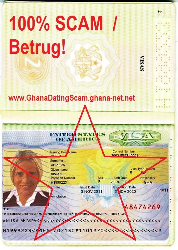 nigeria date scam