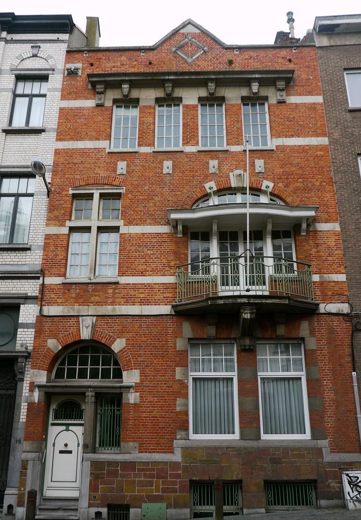 Bruxelles, Belgique: 12 rue de l\'Ermitage, maison de style… | Flickr