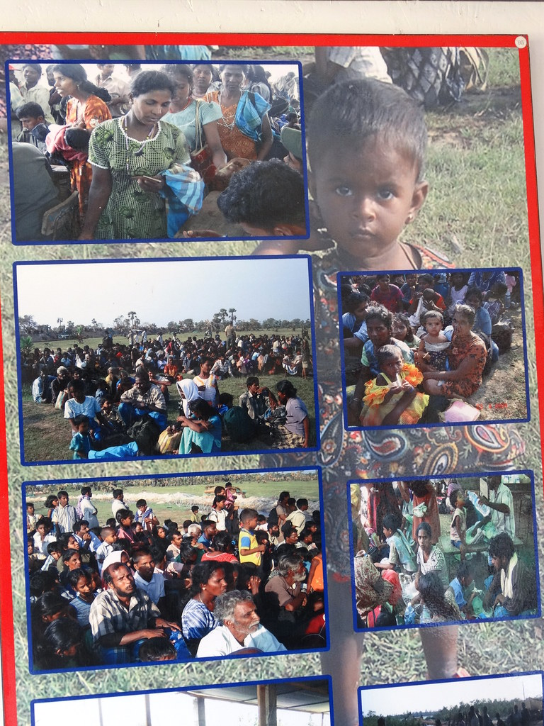 images of refugees fleeing final sri lankan conquest of lt flickr