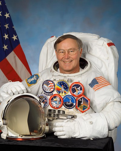 Official Portrait of Jerry Ross | by NASA Johnson
