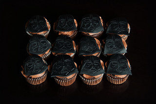 Darth Vader Cupcakes | by Kayley Mackay