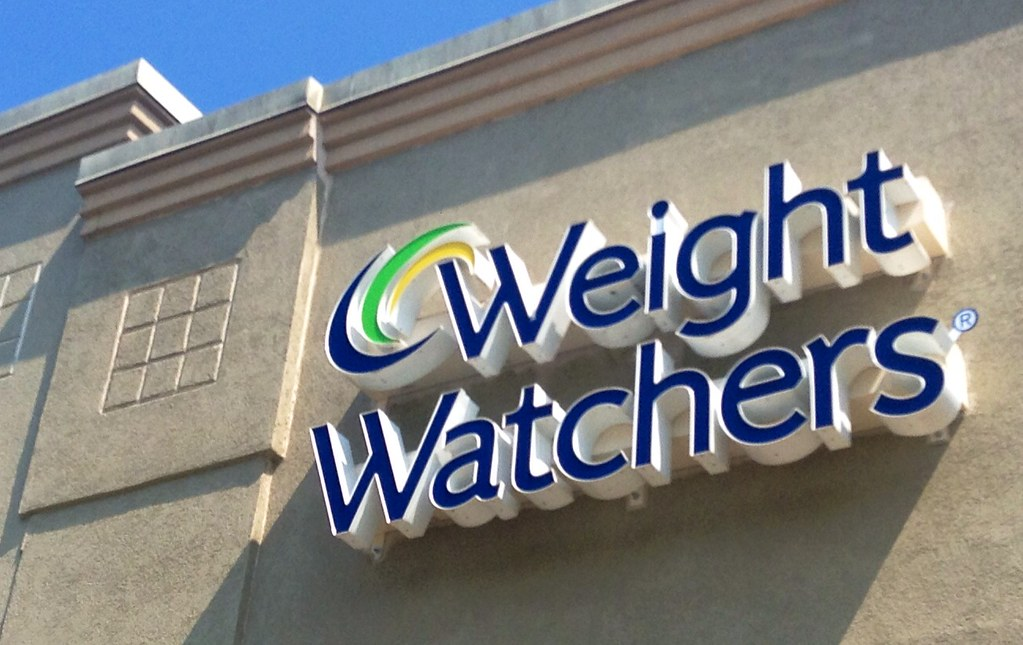 weight watchers store office sign logo 6 2014 waterbury c. Black Bedroom Furniture Sets. Home Design Ideas
