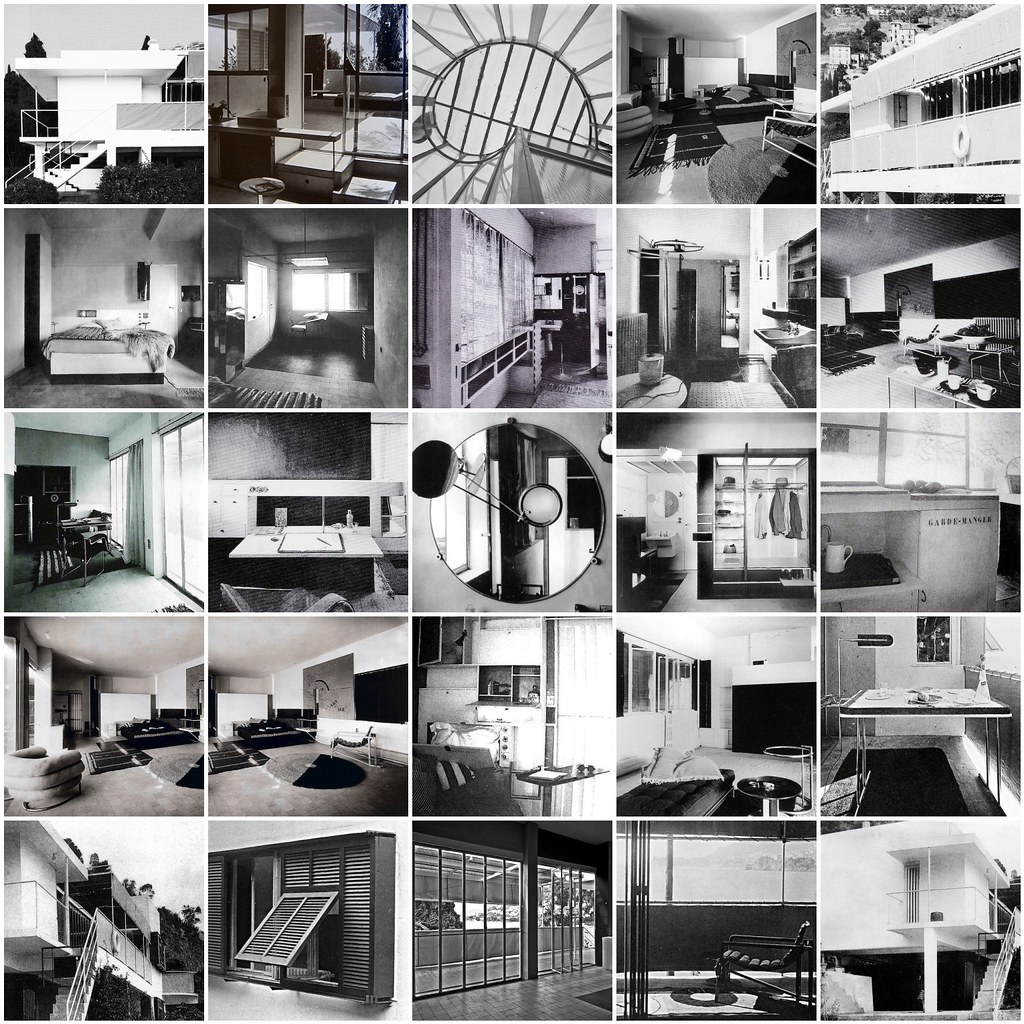 E 1027 Eileen Gray e1027 eileen gray furniture makes the room 1926 1929 flickr