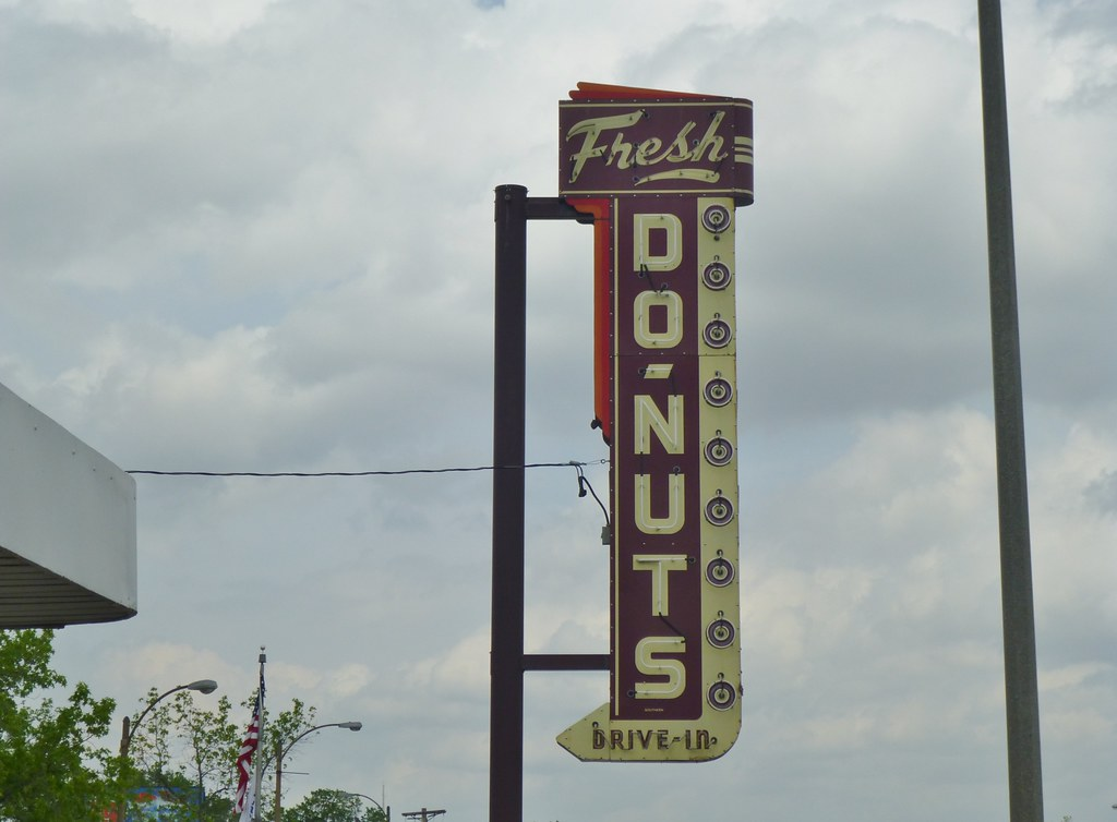 Fresh Donuts Drive In St Louis Missouri Route 66 Flickr