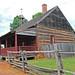 North Carolina, Winston-Salem, Old Salem, African Moravian Log Church (Reconstructed)