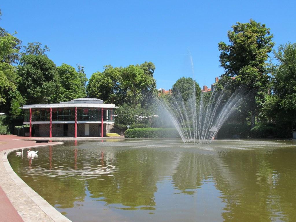 Pavillon Lecoq Jardin Lecoq Clermont Ferrand 63 Flickr