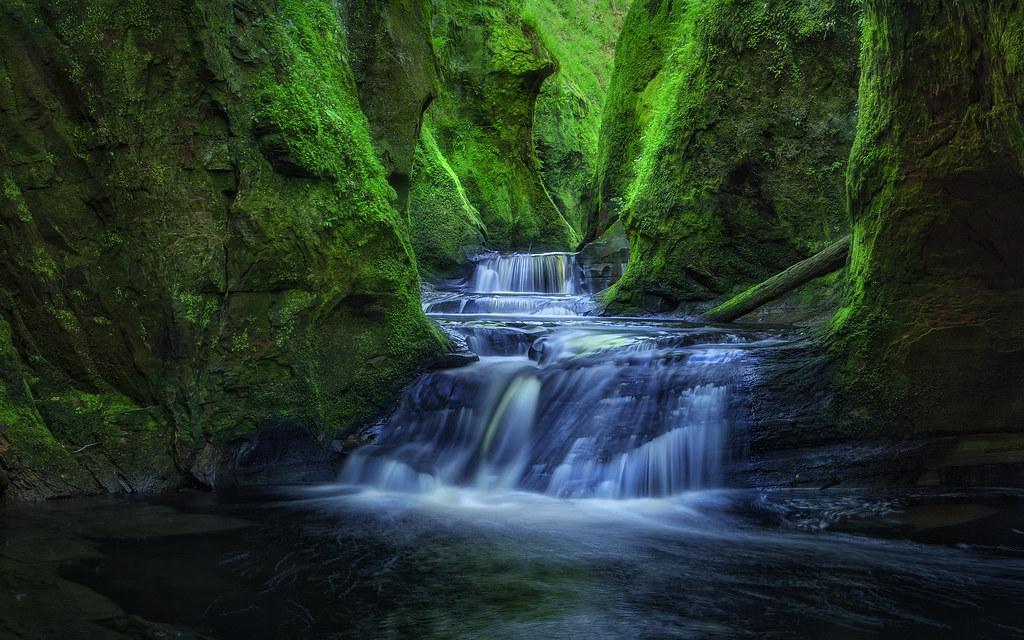 the devils glen finnich gorge craighat scotland