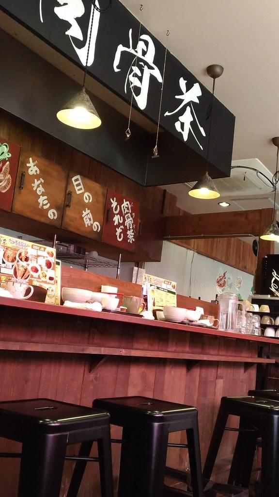 「肉骨茶」の店内風景