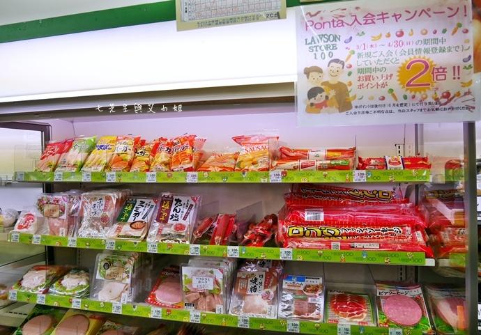 7 日本必逛必買 Lawson 100 便利商店也走百円風 生鮮熟食 泡麵零食 各式食品 生活日用品雜貨通通百円價好逛好買