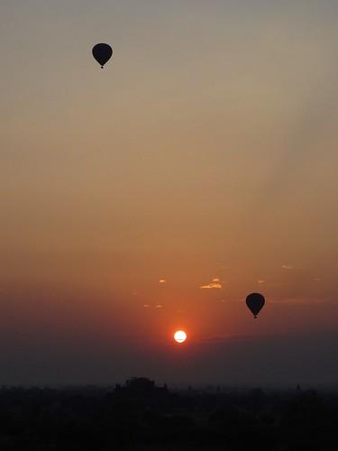 2 balloons and sun