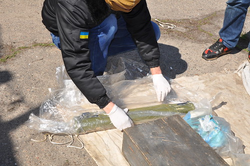 У Миколаєві СБУ вилучила арсенал зброї та боєприпасів