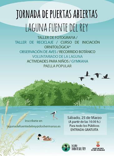 Jornada de puertas abiertas en la Laguna de Fuente del Rey