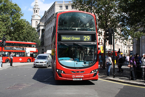 Arriva London North HV118 LJ13FBO