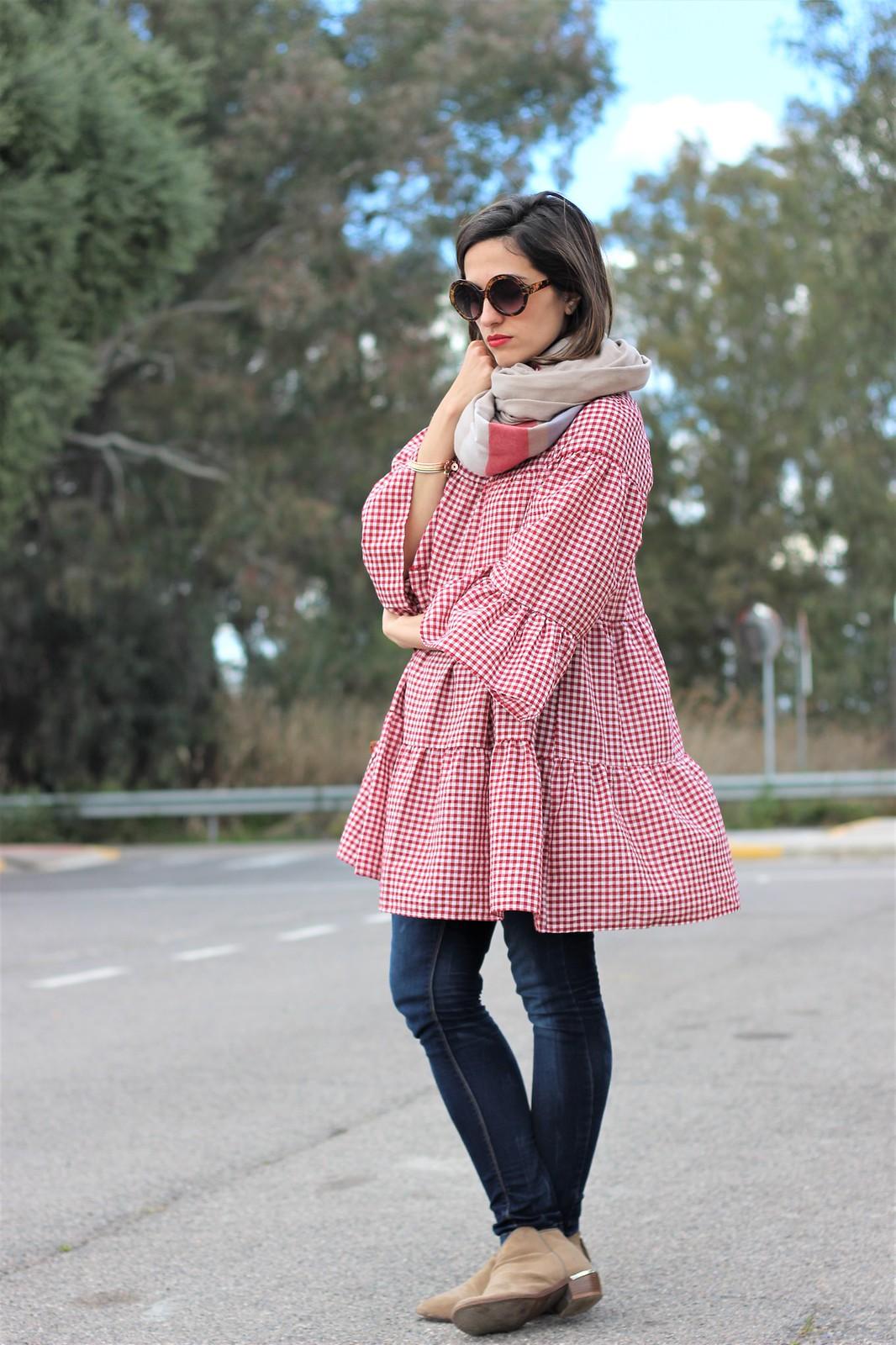 Look cuadros vichy rojo_ Rojo Valentino Blog (47)