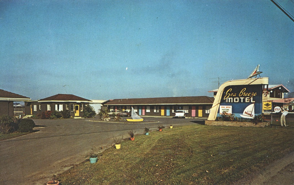 Sea Breeze Motel - Eureka, California