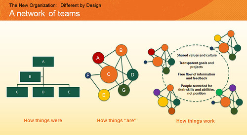 network of teams