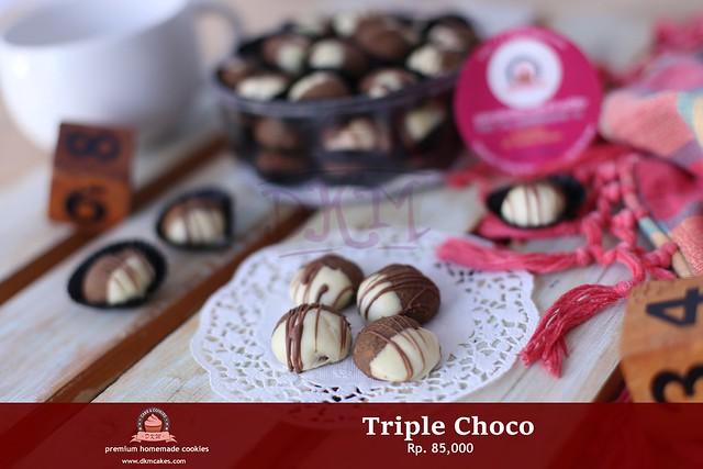 Triple Choco DKM COOKIES