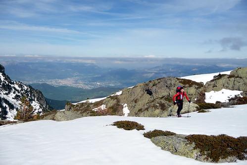 Antho avec Grenoble en arrière plan