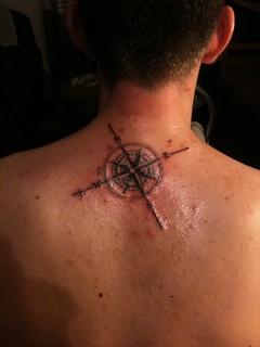 Compass Tattoo Ideas On Neck Back For Men Tattoosaddict Co Flickr