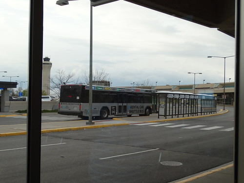 Rental Car Shuttle Bus 04 Mci Kansas City International Ai