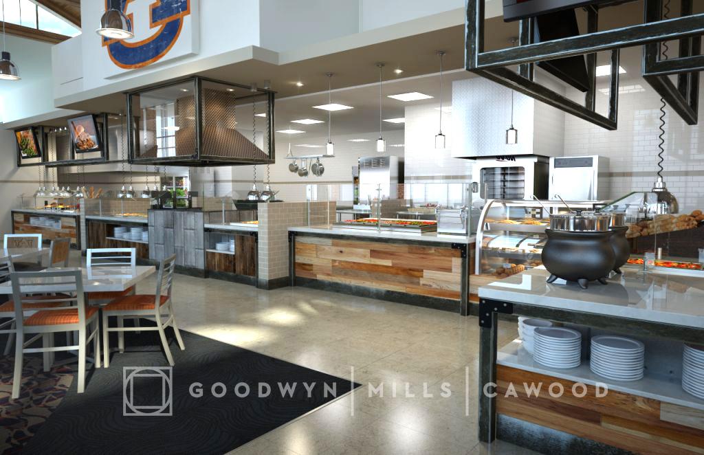 Au wellness kitchen interior concept 1 auburn university - Auburn university interior design program ...