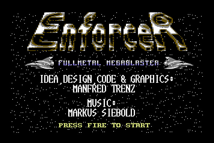 Enforcer, Commodore 64