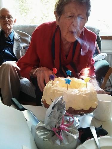 Happy Birthday Jane Cake Retro Old School