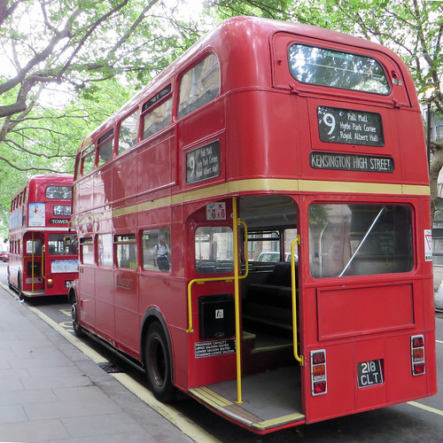 Heritage Routemaster  on route 9 | by diamond geezer